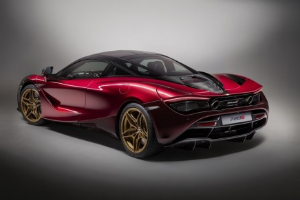 McLaren 570GT MSO Black Collection and 720S 'Velocity' on display at 2018 Salon Privé'