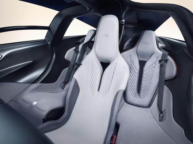 McLarenSpeedtail SuperCar 2018- cockpit interior details