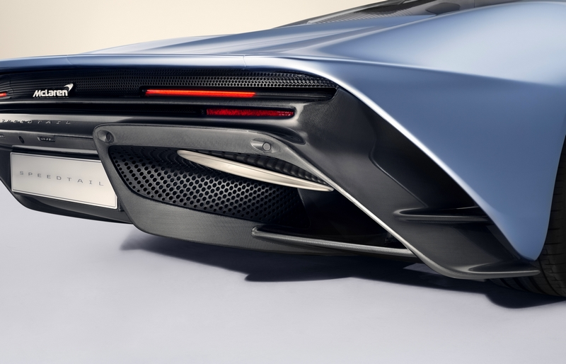 McLarenSpeedtail SuperCar 2018-details