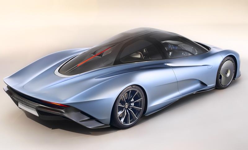 McLarenSpeedtail SuperCar 2018