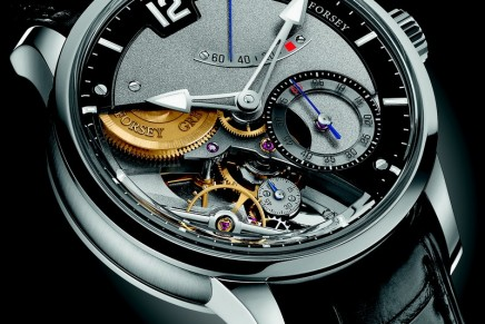 Greubel Forsey timepiece that contains their 5th Fundamental Invention: the Différentiel d'Égalité