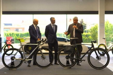 Metamorphosis isn't a new bicycle, but is a new way of conceiving and living the bicycle