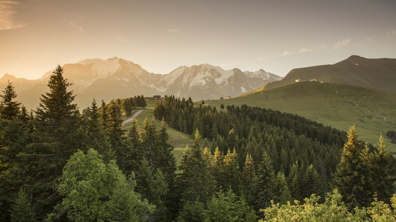 Megève Panoramic Views