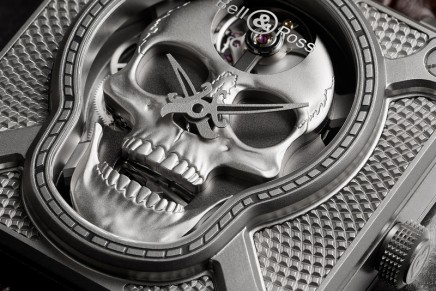 Memento Ridere: Bell & Ross BR 01 Laughing Skull is venturing into the field of automata