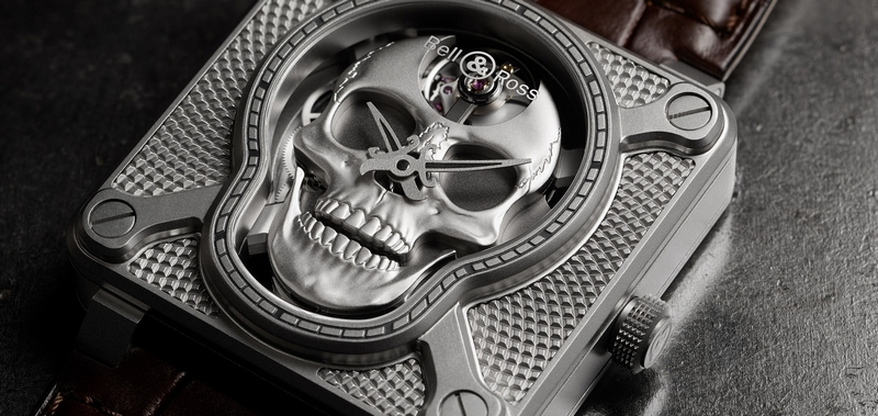 Memento Ridere - Bell & Ross BR 01 Laughing Skull is venturing into the field of automata