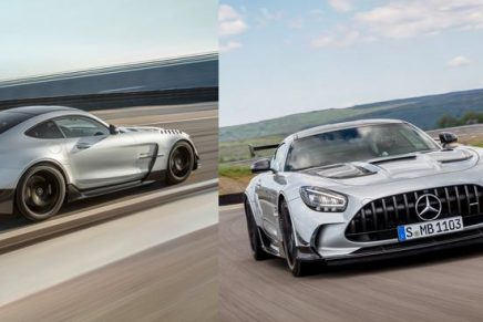 Mercedes-AMG GT Black Series – the most powerful Mercedes-AMG with a V8 series engine