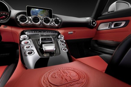 Inside the AMG GT sports car