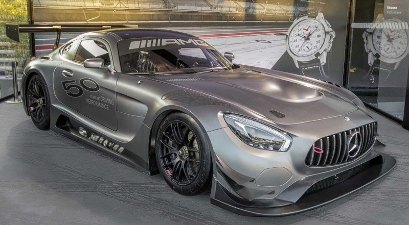 Mercedes-AMG GT3 Edition 50 - 2017 edition