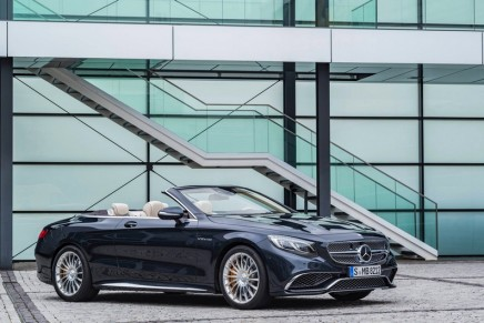 Mercedes-AMG S 65 Cabriolet promises a new dimension in open-air motoring