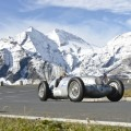 Mercedes-Benz 750-kilogram racing car W 125, driven by Jochen Mass in the Grossglockner Grand Prix 2012
