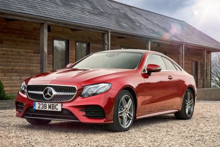 Mercedes-Benz E300 Coupe review: 'You'll split your trousers getting into the back'