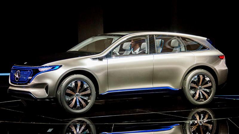 Mercedes-Benz EQ concept car