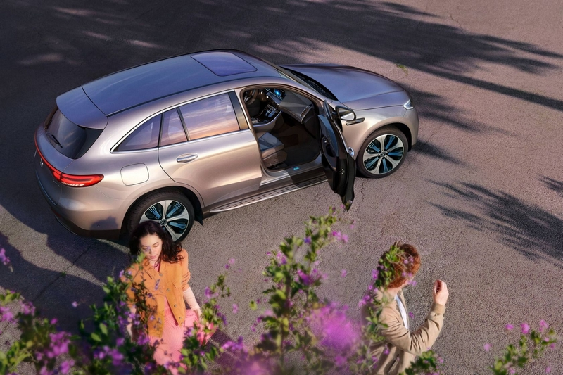 Mercedes-Benz EQC is a five-seat electric SUV
