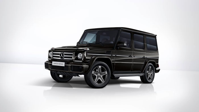 Mercedes-Benz G 350 d Limited Edition, 2017 designo mocha black metallic - upholstery in saddle brown designo nappa leather
