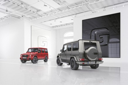 Fashions come and go, the legendary G‑Class continues with the designo manufaktur and the Exclusive Editions