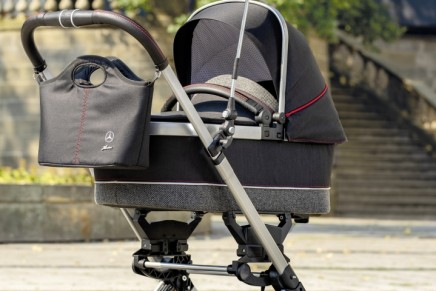 Kinderwagen Avantgarde: The all new Mercedes of baby carriages