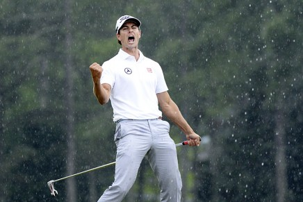 Golfer Adam Scott becomes World Number One