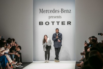 Botter, the winner of 2018 Grand Prix du Jury Première Vision, debuted atMBFW Spring/Summer 2019