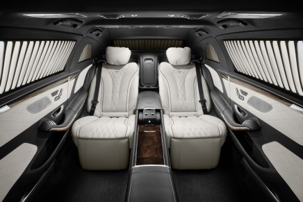 Mercedes-Maybach S 600 Pullman Guard provides complete protection
