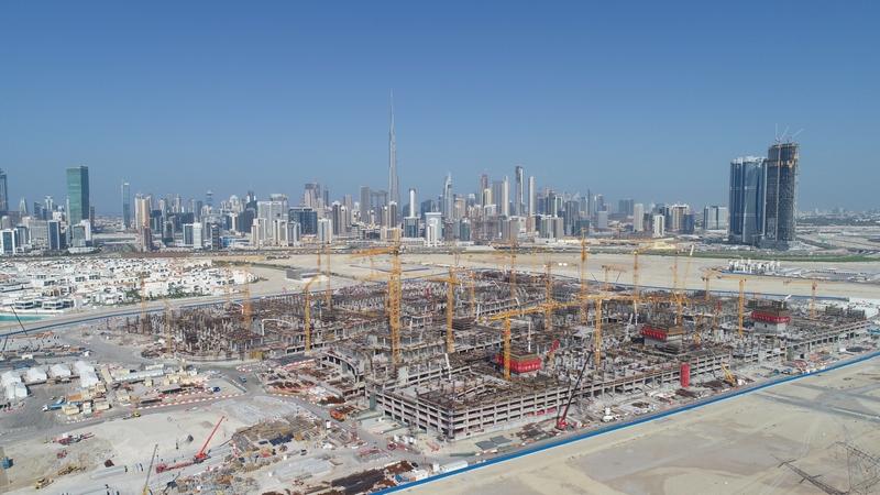 Meydan One Dubai - Construction Update December 2018-