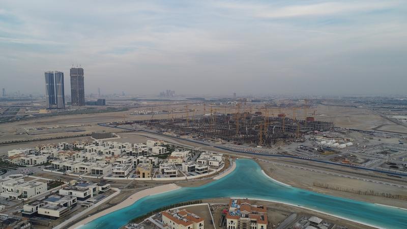 Meydan One Dubai - Construction Update December 2018