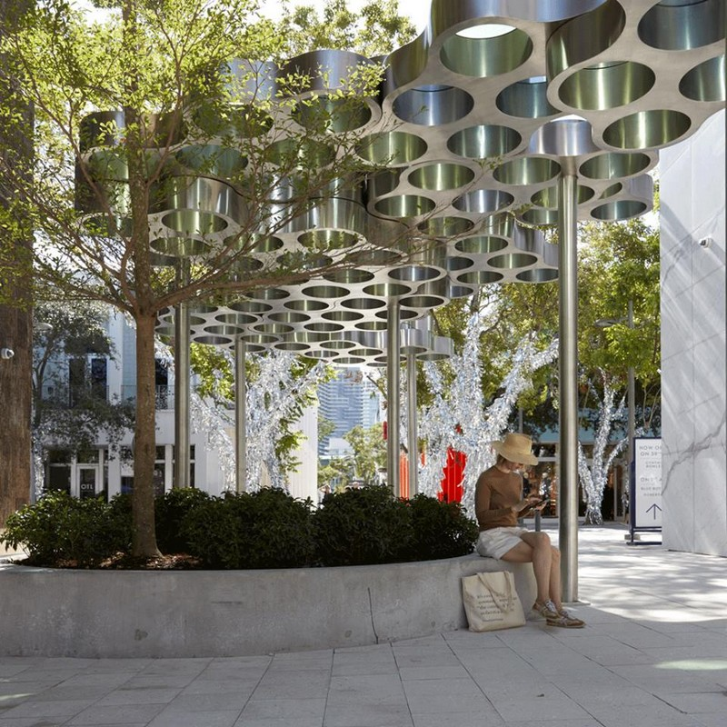 Miami Design District -Ronan and Erwan Bouroullec Nuage