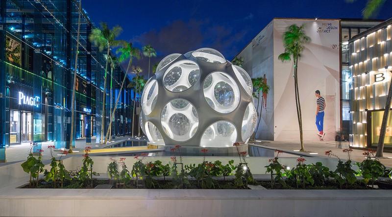 Miami Design District deco