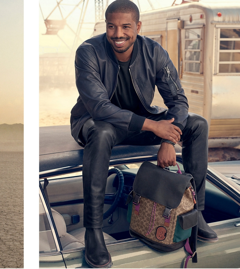 Michael B. Jordan unveiled as the first global face of Coach menswear