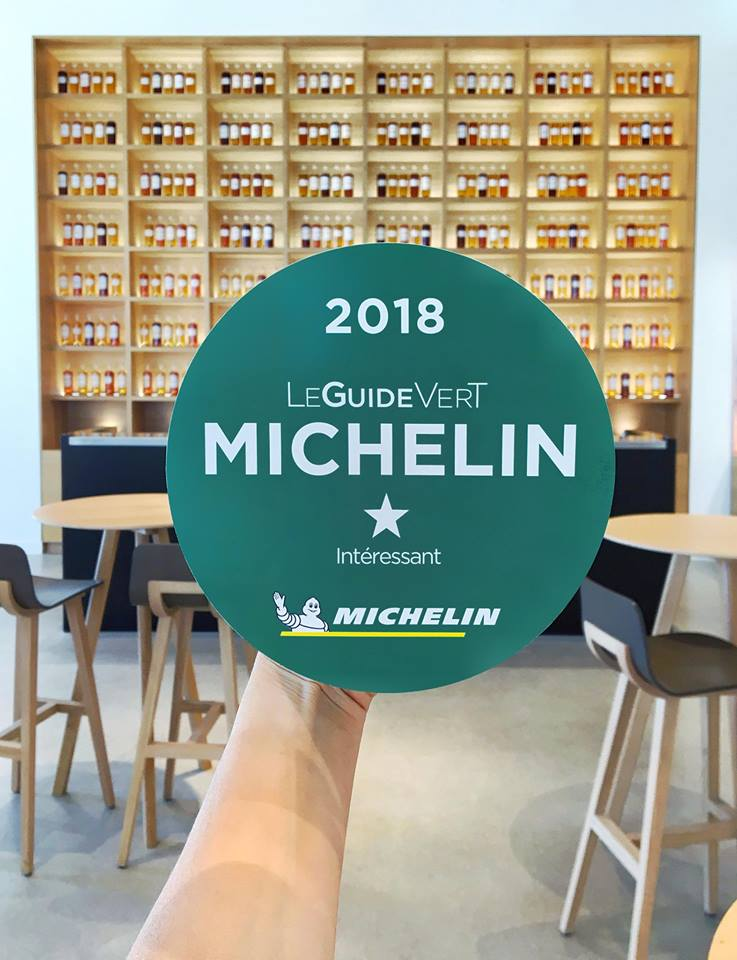 Michelin recommends stopping by the Maison Martell in Cognac