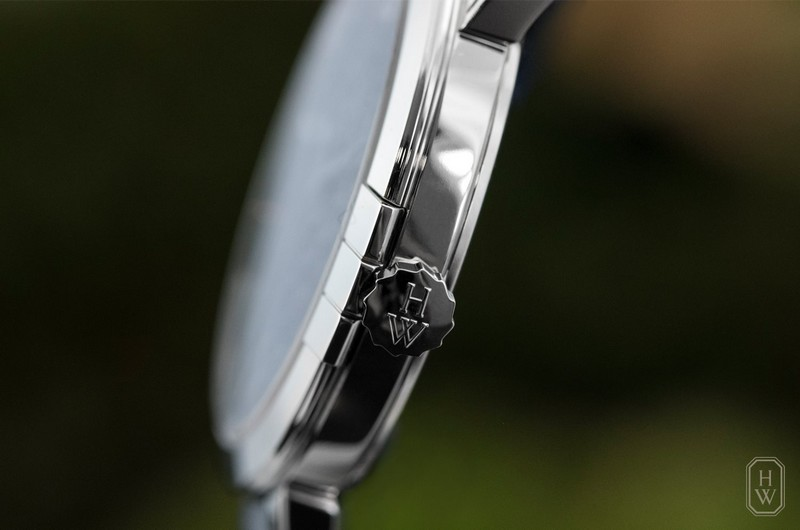 Midnight Precious Weaving watch by Harry Winston - the delicate case