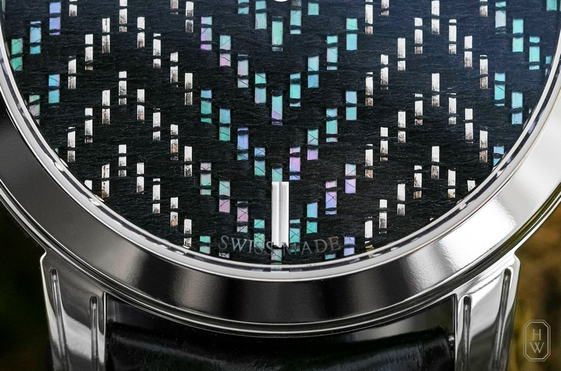 Midnight Precious Weaving watch by Harry Winston