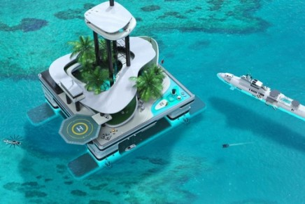 2 in 1: This Private Submersible Superyacht takes yacht design beneath the ocean