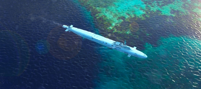 Migalloo, a custom developer of any Private Submersible Superyacht from 72 M up to 283 M
