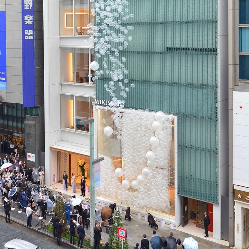 Mikimoto Ginza Main Store Opening June 2017
