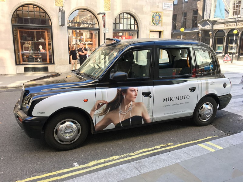 Mikimoto Pearls & Taxis-