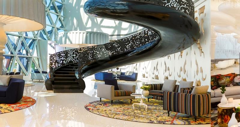 Milan design week 2017 marcel wanders unveils mondrian doha for Design hotel 2017