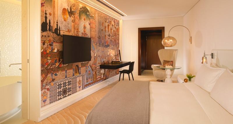 Milan Design Week 2017 - Mondrian Doha room details