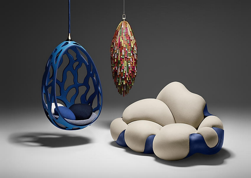 Objets nomades collection enriched by louis vuitton with for Milan design week 2017