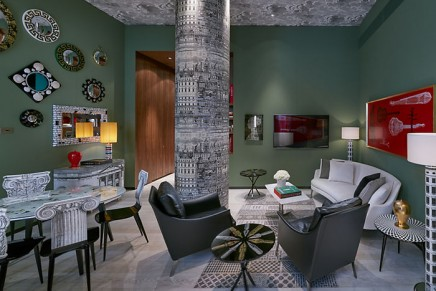 Milanese design masters, Piero Fornasetti and Gio Ponti, inspire new speciality hotel suites