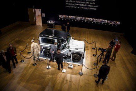 Milestone 'Defender 2,000,000' is the most valuable production Land Rover ever sold at auction