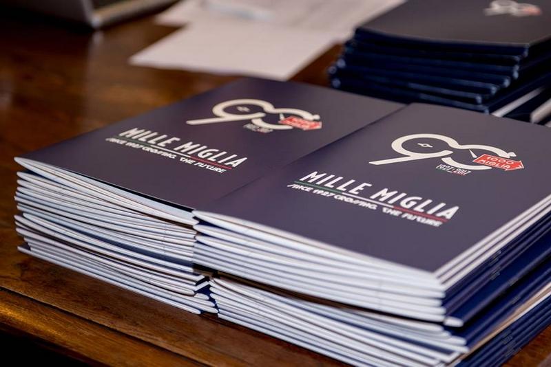 Mille Miglia 2017 booklets