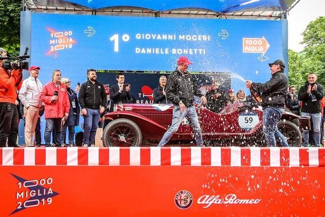 Mille Miglia 2019 - winners -