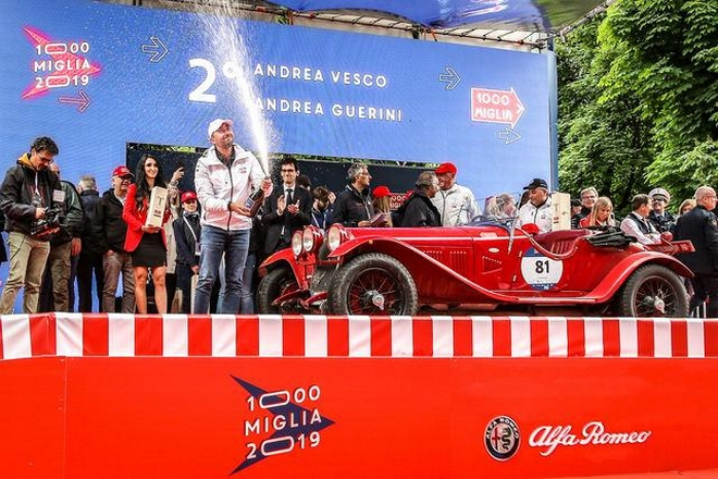 Mille Miglia 2019 - winners 2nd place
