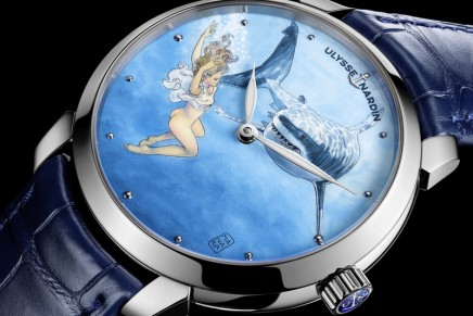 Ulysse Nardin x Milo Manara take you on a voyage into the depths of a mythical sea of desire