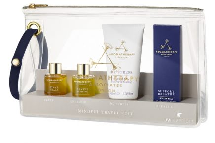 The Mindful Travel Edit kit: four essential spa products to relieve travel's stressors