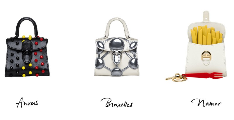 Miniatures Belgitude is Delvaux's blend of humour and savoir-faire