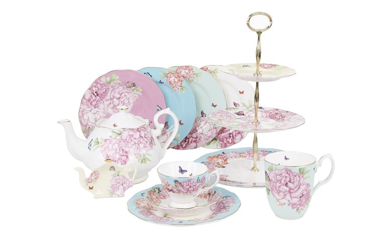 Miranda Kerr for Royal Albert The Friendship Tableware Range