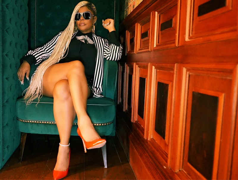 Misa Hylton in a still from The Remix Hip Hop x Fashion
