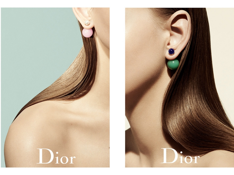 Mise en Dior earrings