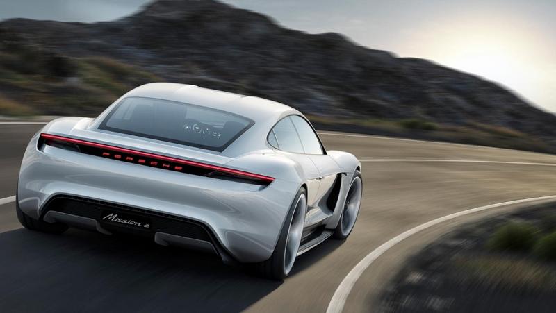 Mission E, Concept car, 2015, Porsche AG -02